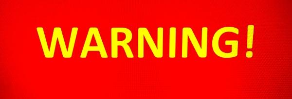 Warning Graphic